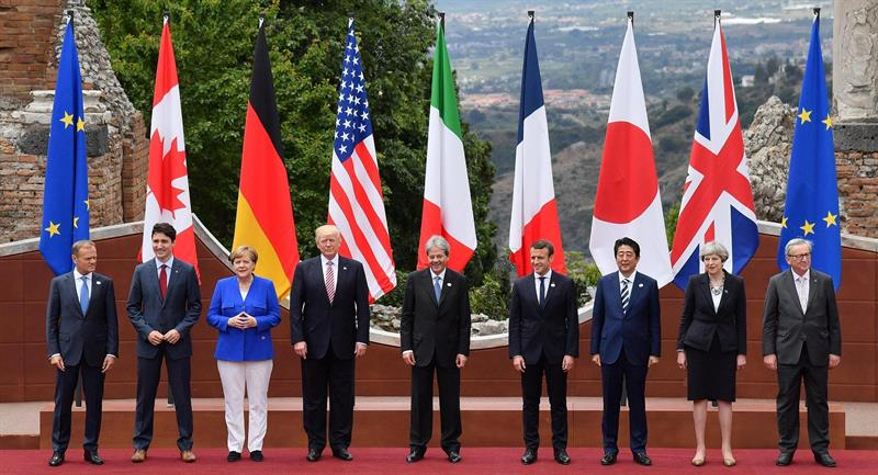 ¿Cuánto mide Angela Merkel? - Altura - Real height Cumbre