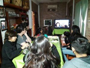 En Santiago del Estero, compartiendo el conversatorio